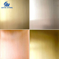 Golden Stainless Steel Sheet